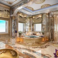 Interior Design Dubai UAE by Katrina Antonovich:  Bathroom by Luxury Antonovich Design