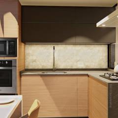 Arquitetura de Interiores, Cruzeiro, Brasília: Armários e bancadas de cozinha  por IEZ Design