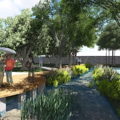 :  Ruang Komersial by 1mm studio | Landscape Design