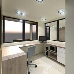 Propuesta de Diseño para Vigilancia: Habitaciones de estilo  por Pinto Arquitectura