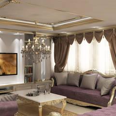 novum dekor – salon: kırsal tarz tarz Oturma Odası