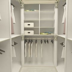 Dressing room by homify, Country Wood Wood effect