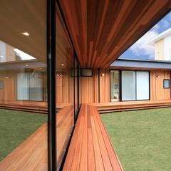 Terrace: STaD(株式会社鈴木貴博建築設計事務所)が手掛けた庭です。