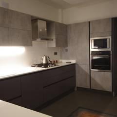 Lina İç Mimarlık – Modern Villa Projesi:  tarz Mutfak