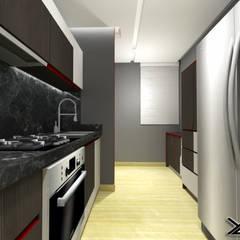 Diseño de Cocina Urb. La Arboleda: Cocinas de estilo  por arqyosephlopez,