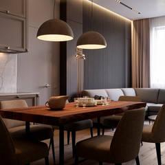 Дизайн-проект квартиры 83 кв.м. Москва, ул. Погодинская 95: Столовые комнаты в . Автор – Владимир Чиченков