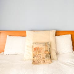DORMITORIO - PUESTA A PUNTO VIVIENDA SITUADA EN VALENCIA : Dormitorios de estilo  de Le Coquelicot Atelier