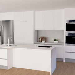 Kitchen units by IAM Interiores, Mediterranean
