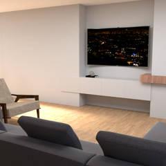 اتاق نشیمن by IAM Interiores