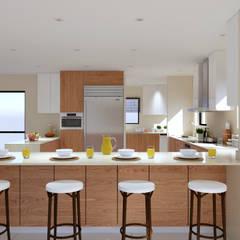 Thornhill Estate Kitchen:  Kitchen by Linken Designs