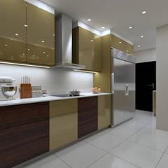 LUXURY KITCHEN:  Built-in kitchens by Linken Designs ,
