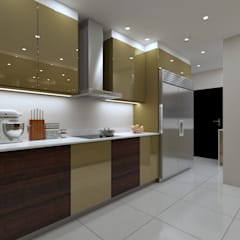 LUXURY KITCHEN - cooking space:  Built-in kitchens by Linken Designs