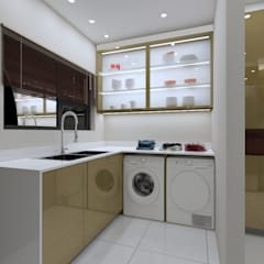 LUXURY KITCHEN:  Built-in kitchens by Linken Designs