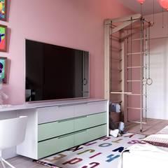 Habitaciones juveniles de estilo  por Владимир Чиченков