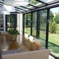 Diseño y Construcción de casa en Altos de Pilar por Estudio Dillon Terzaghi Arquitectura: Jardines de invierno de estilo  por Estudio Dillon Terzaghi Arquitectura - Pilar