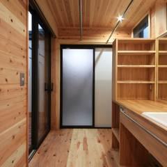 asian Bathroom by 田村建築設計工房