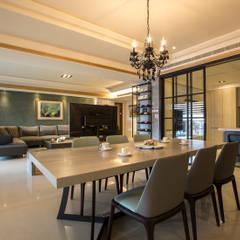 غرفة السفرة تنفيذ SING萬寶隆空間設計