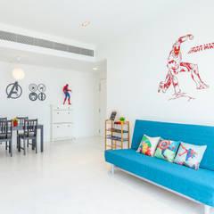 Interior Photography - Shiya Studio:  Living room by Shiya Studio Singapore
