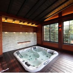 Spa by Studio B&L , Asian Solid Wood Multicolored
