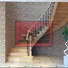 RST Ahşap Merdivenci – Ahşap Merdiven Örneği:  tarz Merdivenler