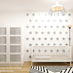 Teen bedroom by Interior design studio NaTaLi ( Студия дизайна интерьера Натали)