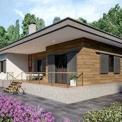 yücel partners – Villa Sayaca: kırsal tarz tarz Evler