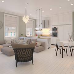 Salas / recibidores de estilo  por design4y