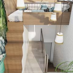 Escalier de style  par Компания архитекторов Латышевых 'Мечты сбываются'