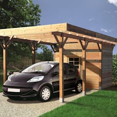 Garage/shed by ONLYWOOD
