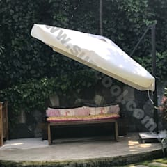Akaydın şemsiye – 3X3   YANDAN GÖVDELİ BAHÇE ŞEMSİYESİ :  tarz Ön avlu