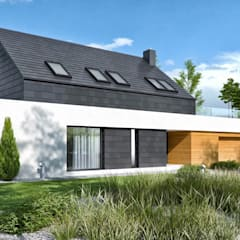 par HomeKONCEPT | Projekty Domów Nowoczesnych Moderne