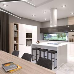 Built-in kitchens by HomeKONCEPT | Projekty Domów Nowoczesnych