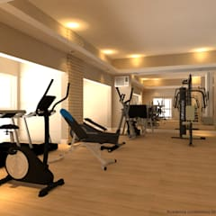 Gym by Domingos de Arquitetura, Modern