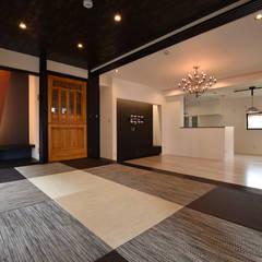 モダンアートな住宅兼共同住宅: Style Createが手掛けた和室です。,モダン