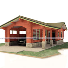 Carport by Projectstroy