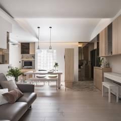 禾光室內裝修設計 ─ Her Guang Design:  tarz Oturma Odası