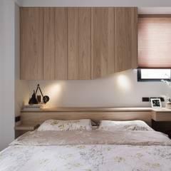 غرفة نوم تنفيذ 禾光室內裝修設計 ─ Her Guang Design