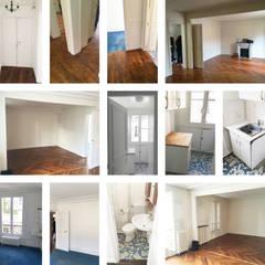 Un aperçu de l'appartement: Planchers de style  par Clo - Architecture & Design
