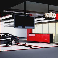 Autohäuser von Elora Desain