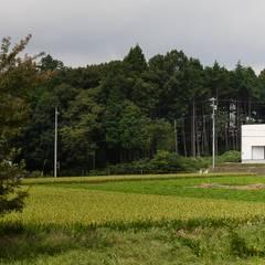 音楽スタジオのあるハコノオウチ12: 石川淳建築設計事務所が手掛けた木造住宅です。,ミニマル