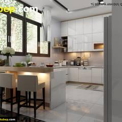 Muebles de cocinas de estilo  por Thế Giới Tủ Bếp