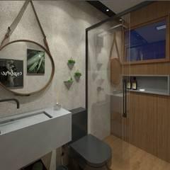 Bathroom by Vivenda Soluções Arquitetônicas
