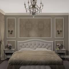 квартира в Сестрорецке: Спальни в . Автор – Студия интерьера 'Золотая Середина