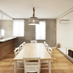 Dining room by degma studio