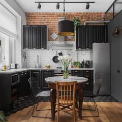 Projekty,  Kuchnia na wymiar zaprojektowane przez Владимир Маркин
