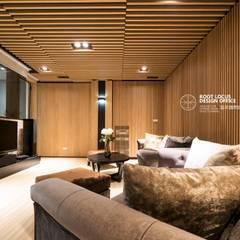 Media room by 築本國際設計有限公司