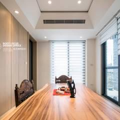 竹韻:  書房/辦公室 by 築本國際設計有限公司