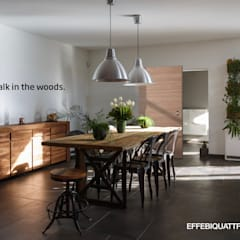 Doors by Effebiquattro S.p.A., Minimalist Wood Wood effect