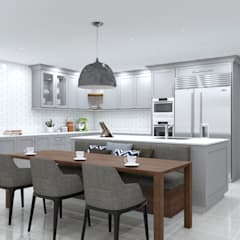 SANDTON KITCHEN:  Built-in kitchens by Linken Designs