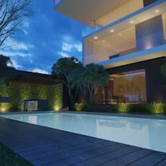 Pool by 21arquitectos, Minimalist